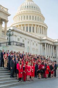 large group Lobby day